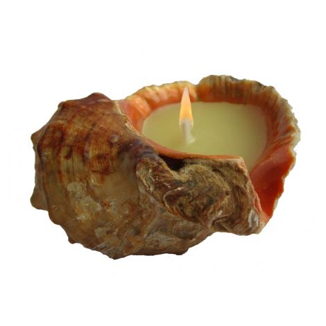 Българско натурална ароматна свещ Лавандулово и Портокалово масло